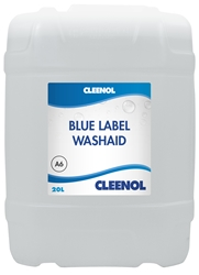 WASHAID BLUE LABEL  20L Washaid, Blue, Label, Cleenol