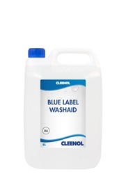 WASHAID BLUE LABEL  5L Washaid, Blue, Label, Cleenol