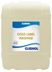 WASHAID GOLD LABEL  20L Washaid, Gold, Label, Cleenol