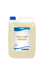 WASHAID GOLD LABEL  5L Washaid, Gold, Label, Cleenol