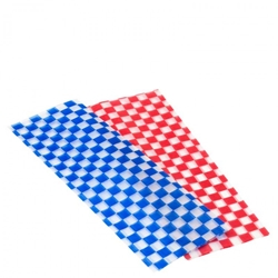 "Wax Liner Blue 12"" / 30cm / Pack of 500 (500 Pack)"