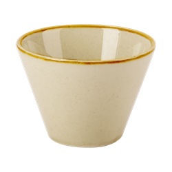 "Wheat Conic Bowl 5.5cm/2.25"" 5cl/1.75oz (Pack of 6)"