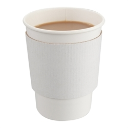 Large cup wrap White (x1000)