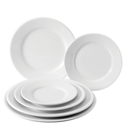 "Winged Plate 6.25"" / 17cm  (36 Pack)"