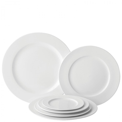 "Winged Plate 9"" / 23cm (6 Pack)"