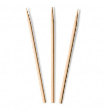 "Wooden Corn Skewer 4.5"" / 115mm (1000 Pack)"