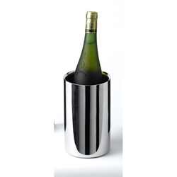 Polished Stainless Steel Wine Cooler 12cm Diameter X 20cm High (Each) Polished, Stainless, Steel, Wine, Cooler, 12cm, Diameter, 20cm, High, Nevilles