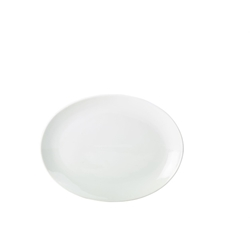 Royal Genware Oval Plate 24 cm (6 Pack) Royal, Genware, Oval, Plate, 24, cm, Nevilles