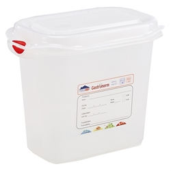 GN Storage Container 1/9 150mm Deep 1.5L (12 Pack) GN, Storage, Container, 1/9, 150mm, Deep, 1.5L, Nevilles