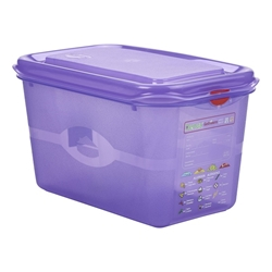 Allergen GN Storage Container 1/4 150mm Deep 4.3L (6 Pack) Allergen, GN, Storage, Container, 1/4, 150mm, Deep, 4.3L, Nevilles