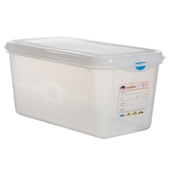 GN Storage Container 1/3 150mm Deep 6L (6 Pack) GN, Storage, Container, 1/3, 150mm, Deep, 6L, Nevilles
