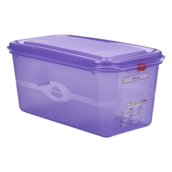 Allergen GN Storage Container 1/3 150mm Deep 6L (6 Pack) Allergen, GN, Storage, Container, 1/3, 150mm, Deep, 6L, Nevilles