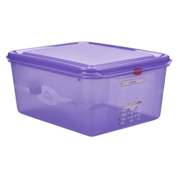 Allergen GN Storage Container 1/2 150mm Deep 10L (6 Pack) Allergen, GN, Storage, Container, 1/2, 150mm, Deep, 10L, Nevilles
