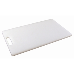 P.E Cutting Board 10X6 1/2 Thick (Each) P.E, Cutting, Board, 10X6, 1/2, Thick, Nevilles