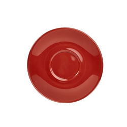Royal Genware Saucer 16cm Red (6 Pack) Royal, Genware, Saucer, 16cm, Red, Nevilles