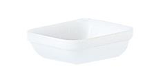 "Restaurant Stackable Square Dish 4.3"" 11cm (24 Pack) Restaurant, Stackable, Square, Dish, 4.3"", 11cm"