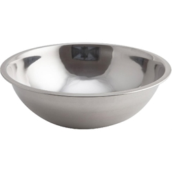 Genware Mixing Bowl Stainless Steel 4L (Each) Genware, Mixing, Bowl, Stainless, Steel, 4L, Nevilles