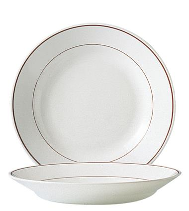 "Filet Bordeaux Soup Plate 8.9"" 22.6cm (24 Pack) Filet, Bordeaux, Soup, Plate, 8.9"", 22.6cm"