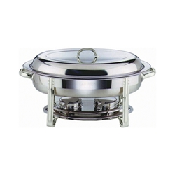 Chafing Dish Set Oval 32X54X30cm (Each) Chafing, Dish, Set, Oval, 32X54X30cm, Nevilles