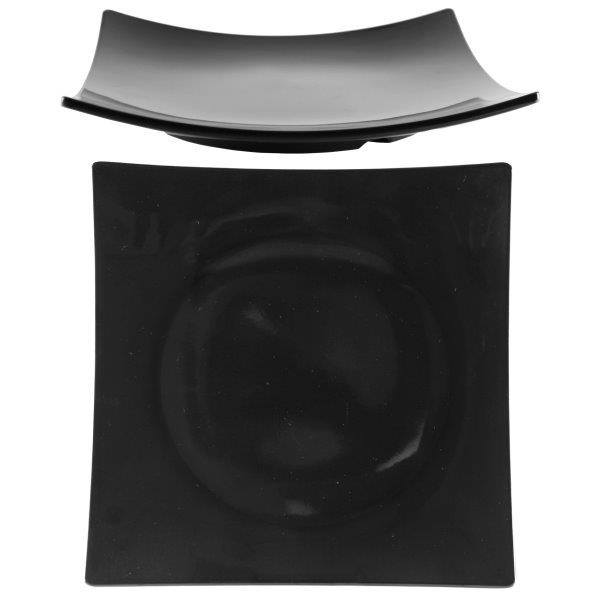 12 3/8? / 315mm Flare Plate, 2? / 50mm Deep, Classic Black
