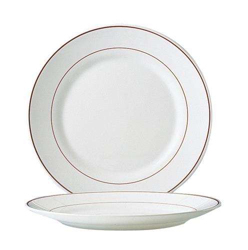 "Filet Bordeaux Large Dinner Plate 10"" 25.4cm (24 Pack) Filet, Bordeaux, Large, Dinner, Plate, 10"", 25.4cm"