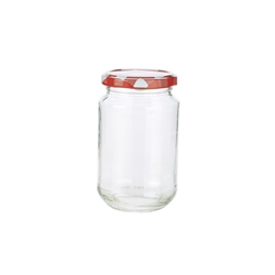 Preserving Jar 350ml 6.5 x 12cm (12 Pack) Preserving, Jar, 350ml, 6.5, 12cm, Nevilles