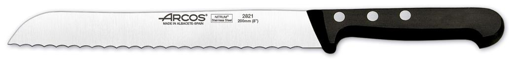 "Universal Bread Knife (Serrated) 7.9"" 20cm (Each) Universal, Bread, Knife, (Serrated), 7.9"", 20cm"