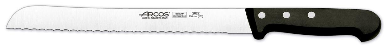 "Universal Bread Knife (Serrated) 9.8"" 25cm (Each) Universal, Bread, Knife, (Serrated), 9.8"", 25cm"
