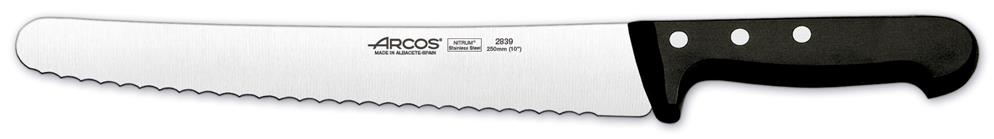 "Universal Pastry Knife (Serrated)  9.8"" 25cm (Each) Universal, Pastry, Knife, (Serrated), 9.8"", 25cm"
