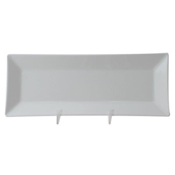 10 1/4? x 4? / 260mm X 100mm Plate, 1? / 25mm Deep, Classic White