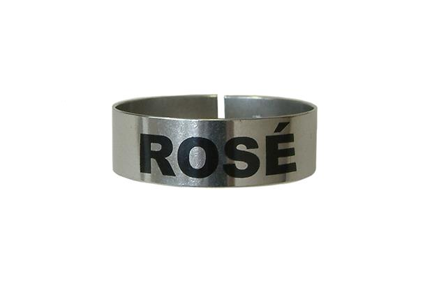 St/Steel Large Thimble I.D. Clip - Rose (Each) St, Steel, Large, Thimble, I.D., Clip, Rose, Beaumont