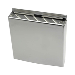 Stainless Steel Wall Fix Knife Box 30 x 32 x 6.5cm (Each) Stainless, Steel, Wall, Fix, Knife, Box, 30, 32, 6.5cm, Nevilles