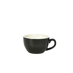 Royal Genware Bowl Shaped Cup 25cl Black (6 Pack) Royal, Genware, Bowl, Shaped, Cup, 25cl, Black, Nevilles
