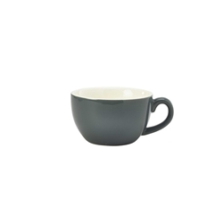 Royal Genware Bowl Shaped Cup 25cl Grey (6 Pack) Royal, Genware, Bowl, Shaped, Cup, 25cl, Grey, Nevilles