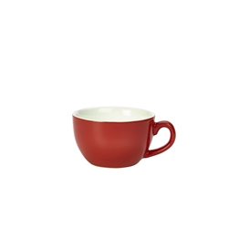 Royal Genware Bowl Shaped Cup 25cl Red (6 Pack) Royal, Genware, Bowl, Shaped, Cup, 25cl, Red, Nevilles