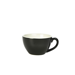 Royal Genware Bowl Shaped Cup 34cl Black (6 Pack) Royal, Genware, Bowl, Shaped, Cup, 34cl, Black, Nevilles
