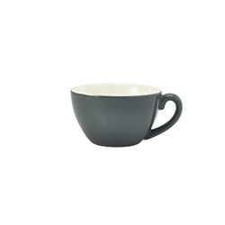 Royal Genware Bowl Shaped Cup 34cl Grey (6 Pack) Royal, Genware, Bowl, Shaped, Cup, 34cl, Grey, Nevilles
