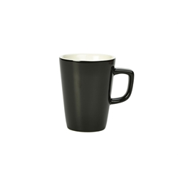 Royal Genware Latte Mug 34cl Black (6 Pack) Royal, Genware, Latte, Mug, 34cl, Black, Nevilles