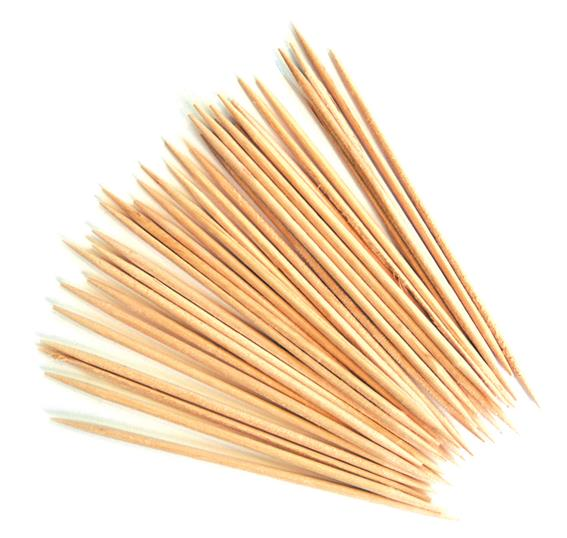 Wooden Cocktail Sticks (1000 Pack) Wooden, Cocktail, Sticks, Beaumont