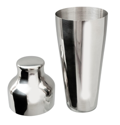 Stainless Steel 2 Piece Art Deco Shaker (Each) Stainless, Steel, 2, Piece, Art, Deco, Shaker, Beaumont