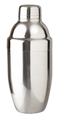Piccolo Cocktail Shaker 600ml Stainless Steel (Each) Piccolo, Cocktail, Shaker, 600ml, Stainless, Steel, Beaumont