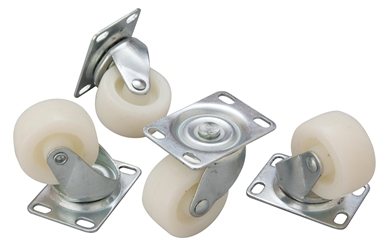 Bottle Skip Castors (Set of 4) (Each) Bottle, Skip, Castors, Set, of, 4, Beaumont