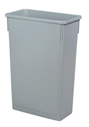 Grey Slim Recycling Bin - 87 Litre (Each) Grey, Slim, Recycling, Bin, 87, Litre, Beaumont