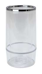 Clear Plastic Wine Cooler (Each) Clear, Plastic, Wine, Cooler, Beaumont
