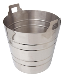Stainless Steel Champagne Bucket - 5 litre (Each) Stainless, Steel, Champagne, Bucket, 5, litre, Beaumont