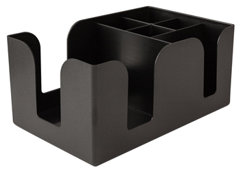 6 Compartment Bar Caddy, Plastic