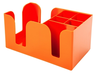 Bar Caddy ORANGE (Each) Bar, Caddy, ORANGE, Beaumont