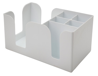 Bar Caddy WHITE (Each) Bar, Caddy, WHITE, Beaumont