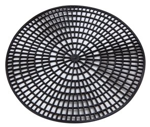 "Non Slip Mat for 11"" Service Tray - Black (Each) Non, Slip, Mat, for, 11"", Service, Tray, Black, Beaumont"