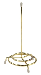 "Cheque Spindle BRASS Plated 6.5"" High (Each) Cheque, Spindle, BRASS, Plated, 6.5"", High, Beaumont"
